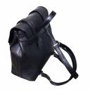 Стильный рюкзак женский кожаный черный 1831/101 Украина