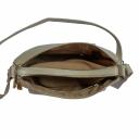 Сумка через плечо женская кожаная бордовая 2031/221 Украина