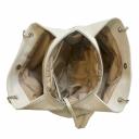 Сумка из натуральной кожи женская цвет слоновой кости 1900/231 Украина