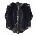Сумка замшевая женская черная 990/101-108 Украина