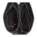 Сумка женская кожаная черная 1856/101 Украина