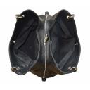 Сумка женская кожаная черная 990/101 Украина