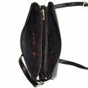 Сумка женская маленькая кожаная черная KARYA 0599/101 Турция