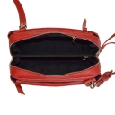 Сумочка на плечо кожаная женская красная 2558/301 Украина