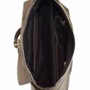 Замшевая сумка с кожей женская комбинированная 1942/138-131 Украина