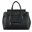 Женская кожаная сумка 1851/101 Украина черная