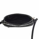 Женская кожаная сумка через плечо черная 2222/101 Украина
