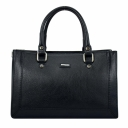 Женская кожаная сумка черная KARYA 5019/101 Турция
