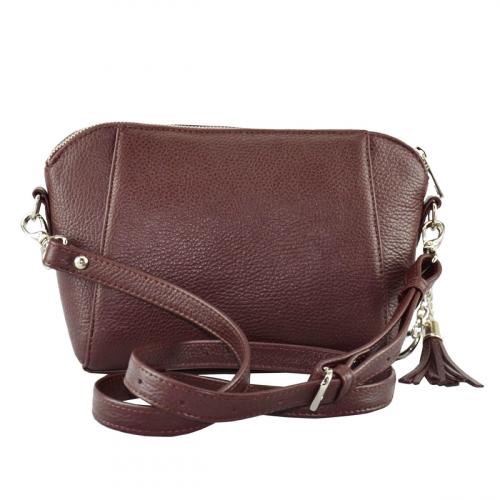Женская сумка 2220/311 Украина бордовая