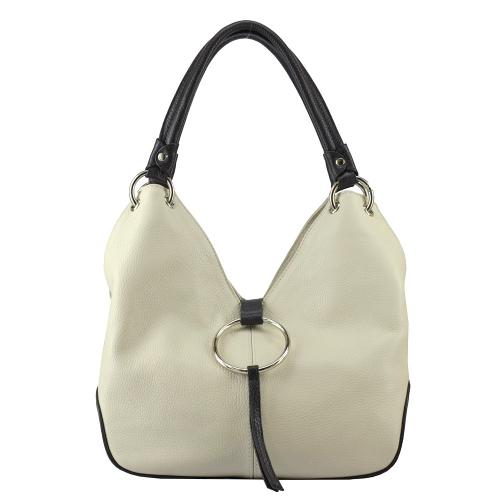 Женская сумка бежевая 2492М/231-201 Украина