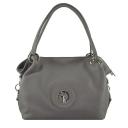 Женская сумка серая 672М/221 Украина