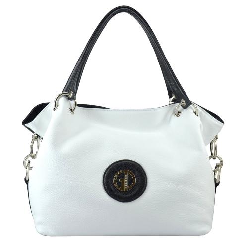Женская сумка белая 672В/011-101 Киев