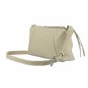 Женская сумка через плечо кожа бежевая 2684/231 Украина