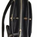 Женская сумка из натуральной кожи черная 1769/101 Украина