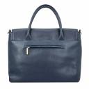 Женская сумка из натуральной кожи синяя 1973/401 Украина