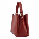 Женская сумка из натуральной кожи красная 2278/301 Украина