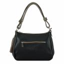 Женская сумка из натуральной кожи 2306/101 Украина черная