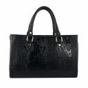 Женская сумка из натуральной кожи черная KARYA 5019/109 Турция