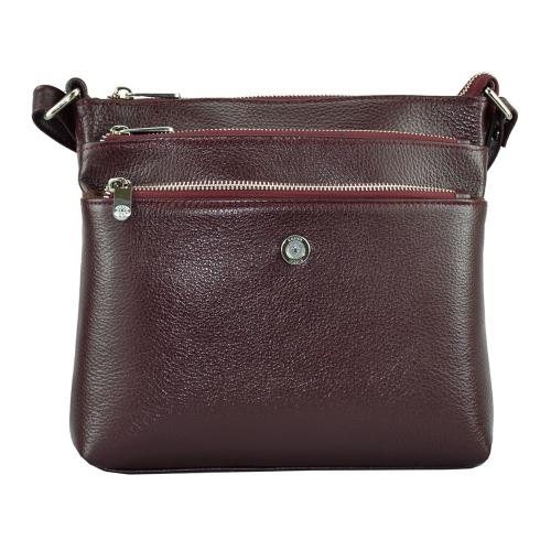 Женская сумка Karya 0690/311 Турция бордовая