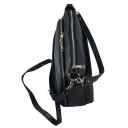 Женская сумка кожа черная 2433/101 Украина