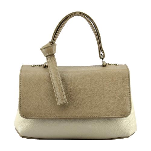 Женская сумка кожа пудра 2523/221-141 Украина