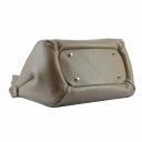 Женская сумка кожаная бежевая 2306/221 Украина