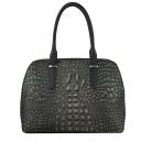Женская сумка кожаная крокодил 2349/101-504 Украина