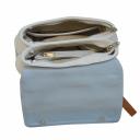 Женская сумка кожаная комбинированная 2523/411-211 Украина