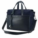 Женская сумка кожаная синяя 2674/401-408 Украина