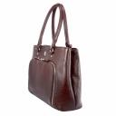 Женская сумка кожаная бордо 444/311 Украина