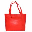 Женская сумка красная кожаная стильная 2099/301 Украина