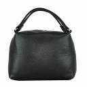 Женская сумка маленькая через плечо черная 2192Б/101 Украина