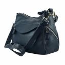 Женская сумка на плечо синяя 2141/401 Украина