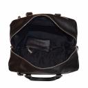 Женская сумка саквояж кожаная черная 2597/101 Украина