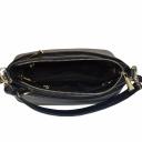 Женская сумочка через плечо кожаная синяя 2138/401 Украина