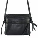 Женская сумочка через плечо черная 2598/101 Украина