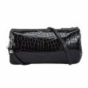 Женский клатч кожаный крокодил шоколад 1486/205 Украина