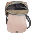Женский кожаный рюкзак 2310/141-221 Украина пудра