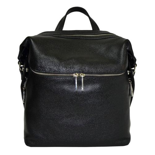 Женский рюкзак кожаный черный 2245/101 Украина