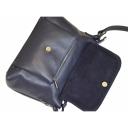 Жіноча шкіряна сумка синя замша 1942/401-408 Україна