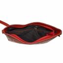 Жіноча сумка шкіряна червона пітон KARYA 5040/309 Туреччина